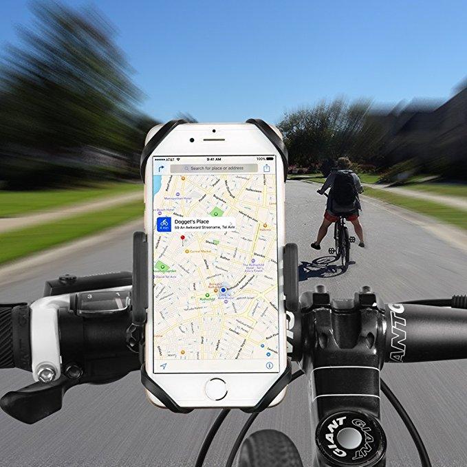 supporto smartphone bici universale