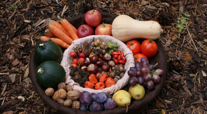 Frutta e verdura autunnali