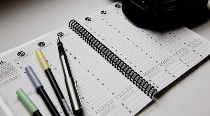 Le migliori agende e planning per il 2019