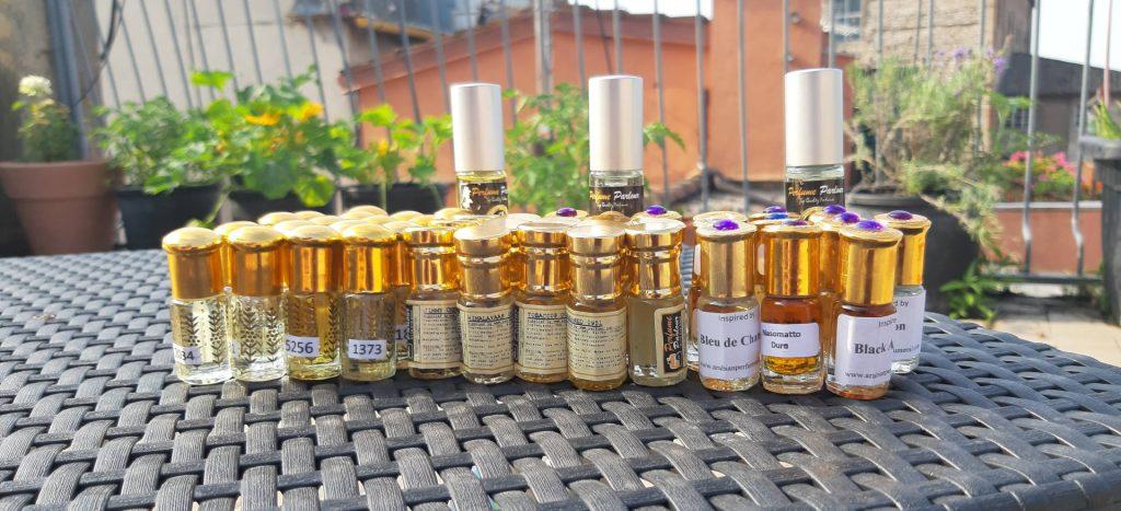 profumi in olio