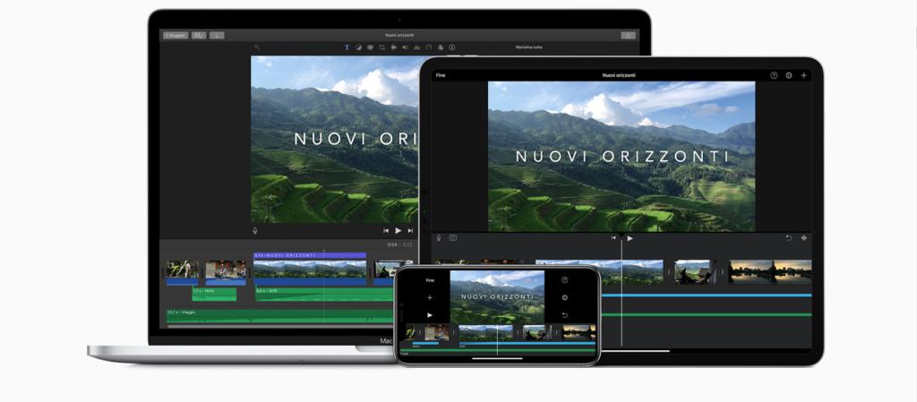 migliori app per montare video imovie