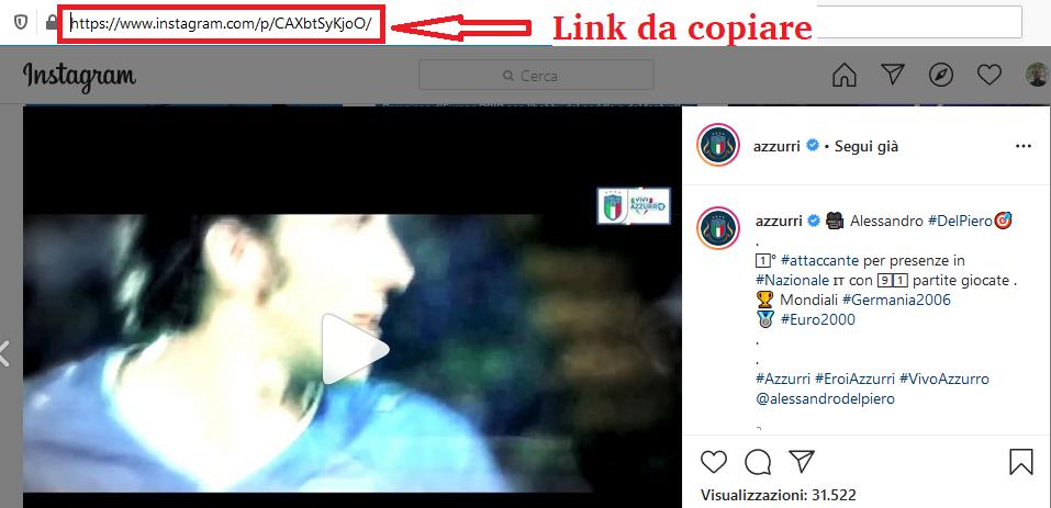 salvare foto video storie instagram