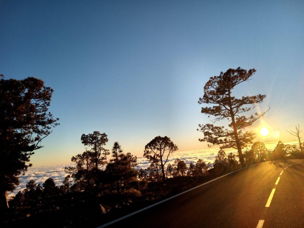 teide tramonto